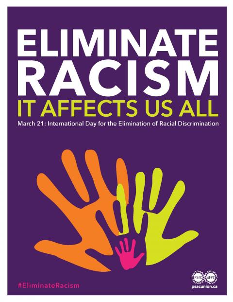 Elimination of Racism poster