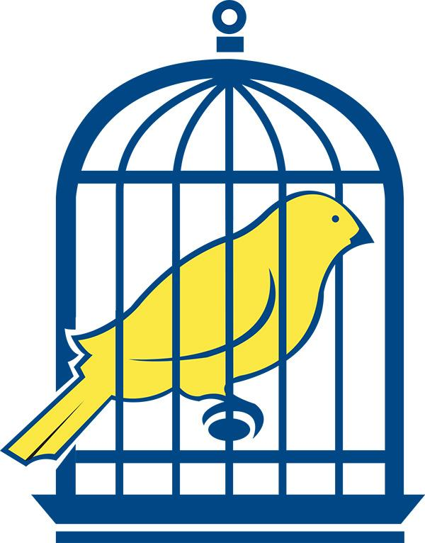 Caged canary